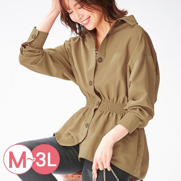 日本代購-portcros設計感抽褶收腰襯衫(共四色/M-LL) 日本代購,portcros,襯衫