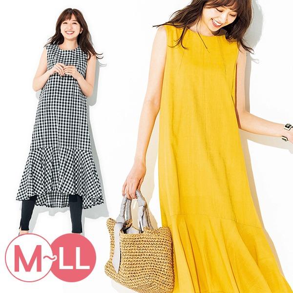 日本代購-portcros優雅連身魚尾無袖洋裝M-LL(共四色) 日本代購,portcros,無袖