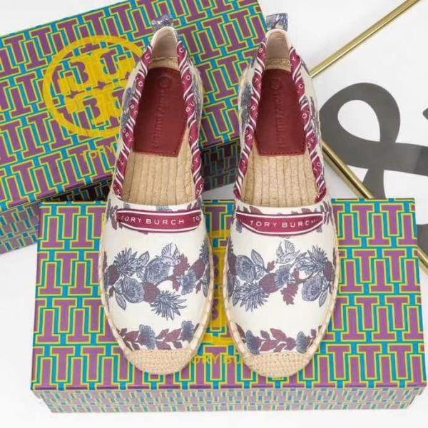 超值代購特價Tory Burch花花漁夫鞋(售價已折) Tory Burch,漁夫鞋