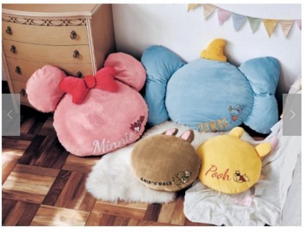 日本代購-特價迪士尼玩偶造型柔軟抱枕40cm(米妮/小飛象/奇奇蒂蒂/小熊維尼(售價已折) 日本空運,東區時尚,抱枕