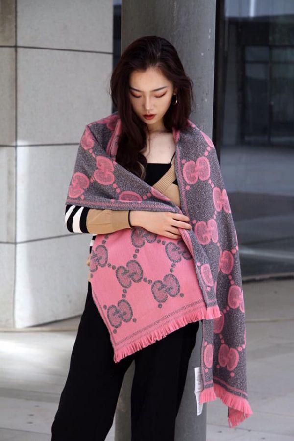 超值代購-GUCCI 大GG雙色圍巾(售價已折) GUCCI ,圍巾