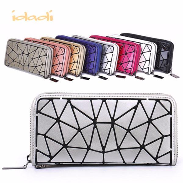 日本代購-幾何方塊造型超輕量拉鍊長夾〈共八色〉 agnes b.,東區時尚,幾何,方塊,造型,超輕量,拉鍊長夾