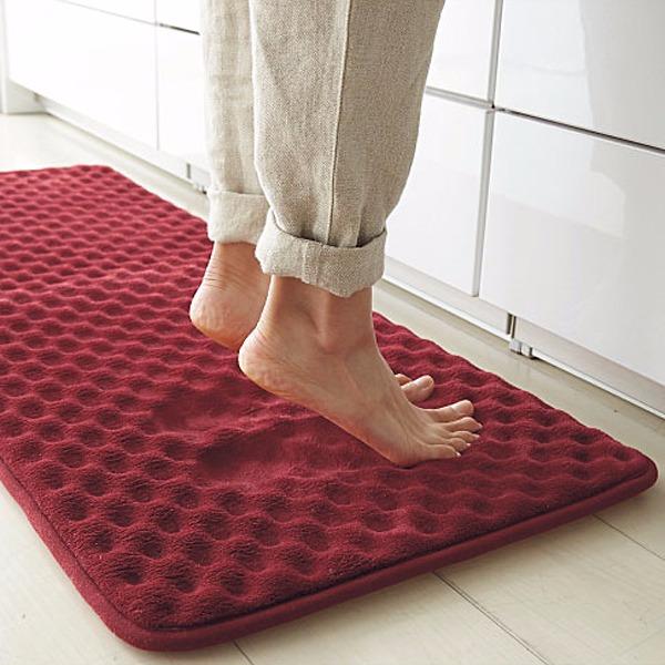 日本代購-足部舒緩低反彈防滑地墊(共三色) 日本代購,東區時尚,腳踏墊