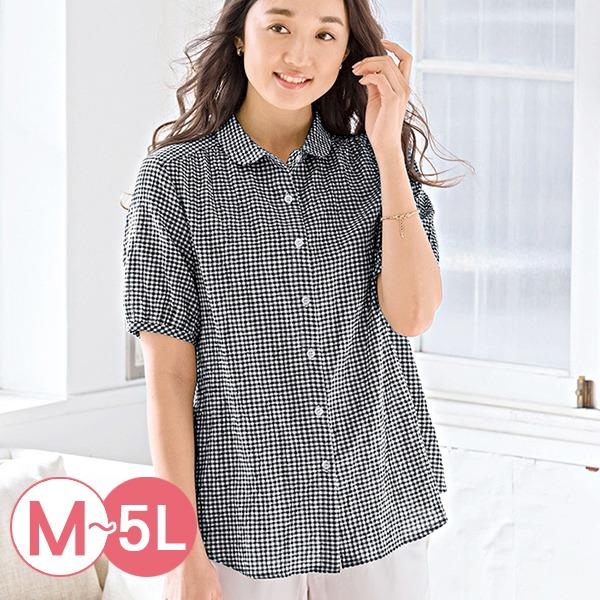 日本代購-portcros涼爽皺感小翻領襯衫M-LL(共四色) 日本代購,portcros,襯衫