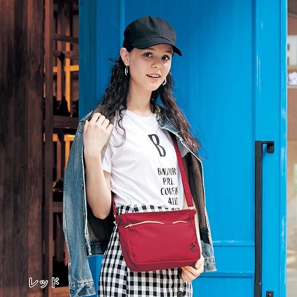 日本代購-迪士尼米奇刺繡透明外袋斜背包(共二色) 日本空運,東區時尚,斜背包