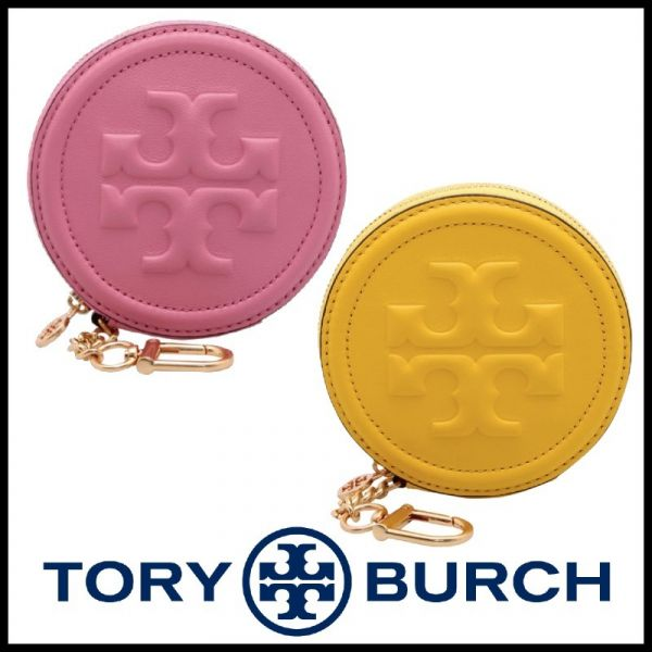 超值代購Tory Burch Soft Fleming Coin Pouch 羊皮零錢包(售價已折) Tory Burch Soft Fleming Coin Pouch ,羊皮,零錢包