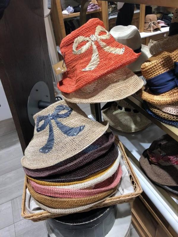 【超值預購】CA4LA大蝴蝶結草帽 日本代購,CA4LA,蝴蝶結,草帽