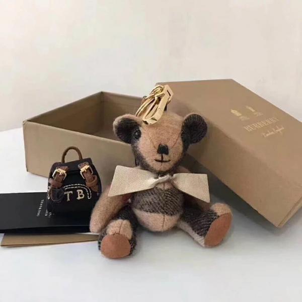 日本代購-BURBERRY萌萌的經典背包熊掛飾/鑰匙圈 日本代購,BURBERRY,吊飾