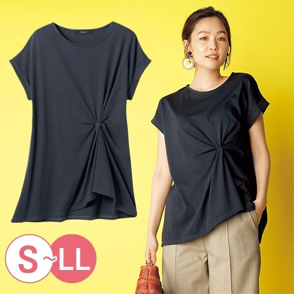 日本代購-cecile時尚扭結設計上衣S-LL 日本代購,CECILE,上衣