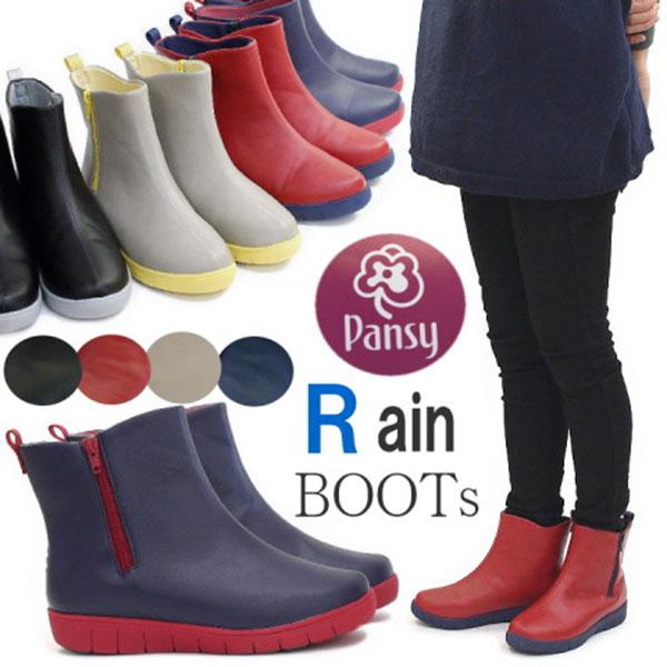 日本代購-配色防水消臭拉鍊短靴/雨靴 日本空運,東區時尚,雨靴,防水,橡膠靴