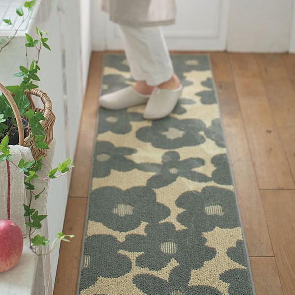 日本代購-花朵圖案除臭地墊(共三色) 日本代購,東區時尚,腳踏墊