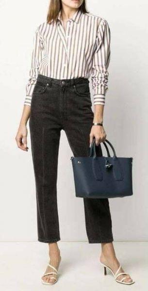 特價LONGCHAMP ROSEAU系列竹節卵石紋牛皮手提包(中)(售價已折) 日本代購,Longchamp