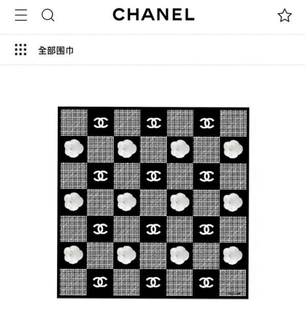超值代購-特價香奈兒CHANEL方形批肩圍巾(售價已折) 香奈兒CHANEL方形批肩圍巾