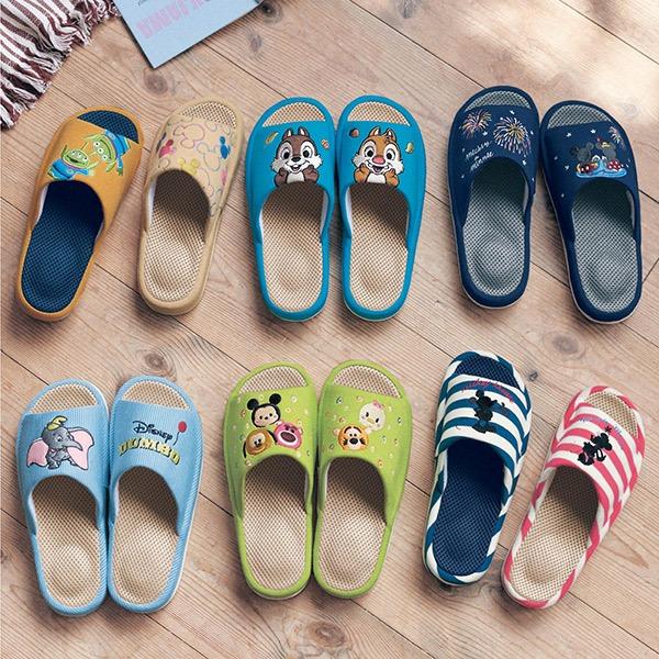 日本代購-迪士尼舒適網眼可機洗防滑拖鞋(共十一色) 日本代購,東區時尚,拖鞋