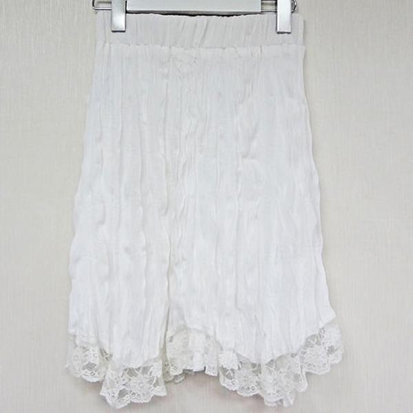 現貨-日本CIELO La Precieuse垂墜風細褶及膝裙-白色/M 日本代購,現貨,上衣