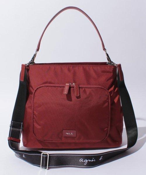 日本代購-特價agnes b.防潑水尼龍3way手提/肩背/斜背包(售價已折) agnes b.,東區時尚,單肩包,斜背包,手提包