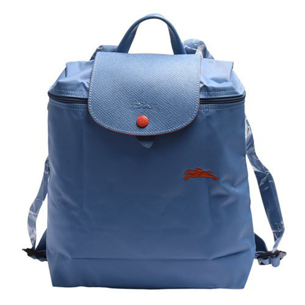 日本代購-特價LONGCHAMP Le pliage 刺繡戰馬尼龍折疊後背包(售價已折) agnes b.,東區時尚,後背包