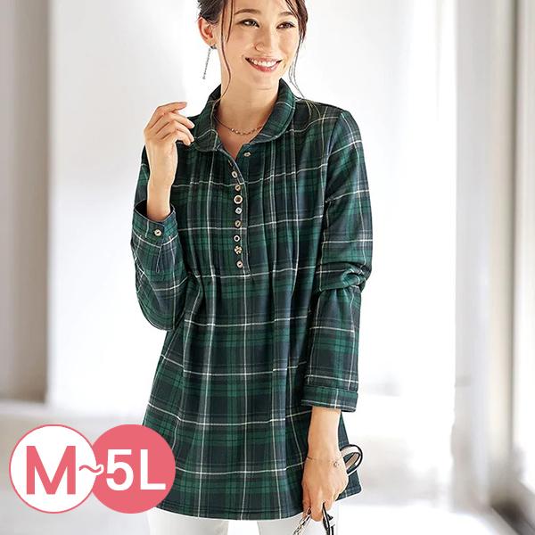 日本代購-細褶多鈕釦內鋪毛長版上衣(共四色/M-LL) 日本代購,長版,鋪毛