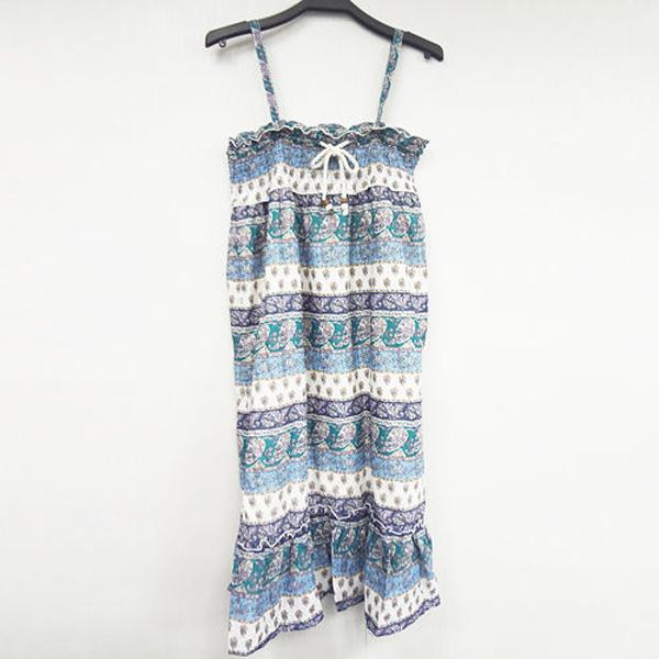 日本CIELO 現貨-K. GARCON兩穿小花裙-綠色/F 日本,CIELO,連身裙