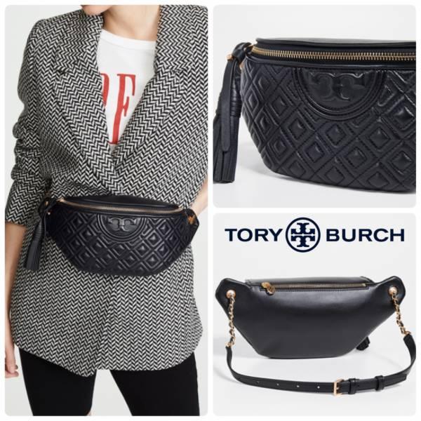 超值代購 Tory Burch Fleming Belt Bag新款羊皮腰包(售價已折) Tory Burch ,牛皮,腰包