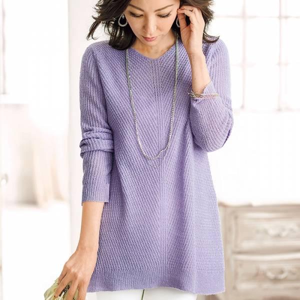 日本代購-portcros混金蔥V領米蘭羅斜紋針織衫(共四色/M-LL) 日本代購,portcros,針織衫