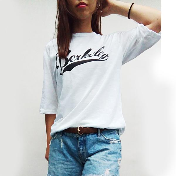 日本ANNA LUNA 現貨-男友風圓領白色寬鬆長版上衣 日本,ANNA LUNA,上衣
