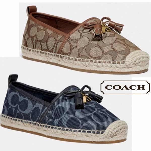 日本代購-特價COACH緹花漁夫鞋(售價已折) 日本代購,COACH,漁夫鞋