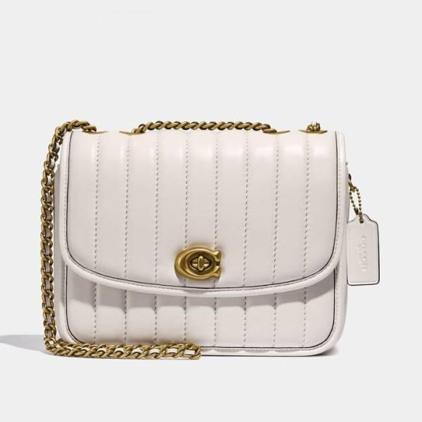 特價COACH MADISON 絎縫單肩手袋 日本代購,COACH