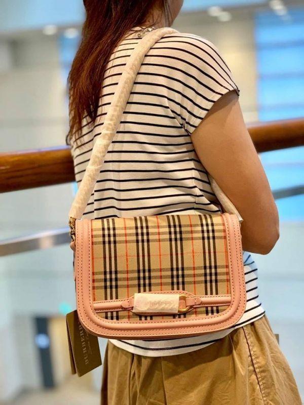 日本代購-特價BURBERRY經典格紋金鍊包(售價已折) 日本代購,BURBERRY,肩背包