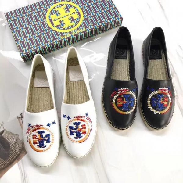 日本代購-特價TORY BURCH鞋面羊皮繡花圖案漁夫鞋(售價已折) 日本代購,Tory Burch,T漁夫鞋