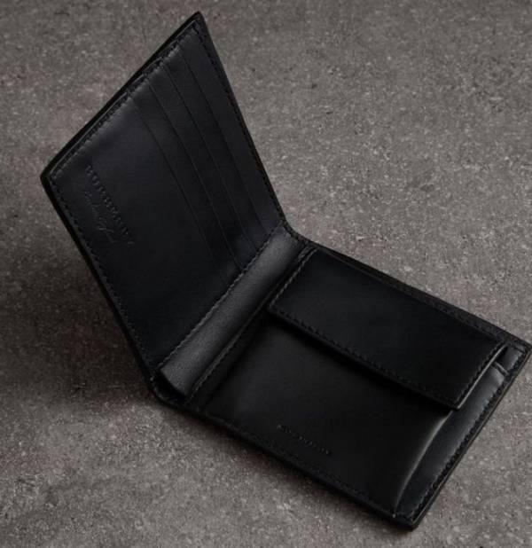 日本代購-特價BURBERRY格紋戰馬2折短夾(售價已折) 日本代購,BURBERRY,短夾