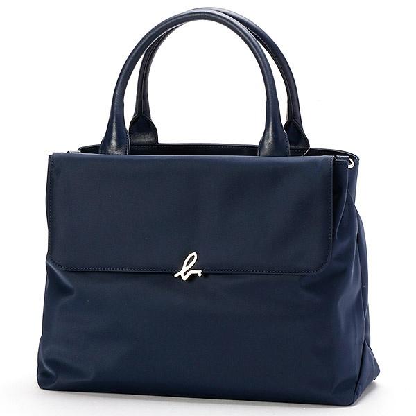 日本代購-特價agnes b. 金屬LOGO 2way手提/肩背包(售價已折) agnes b.,東區時尚,手提/肩背包