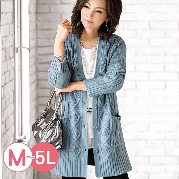 日本代購-portcros排釦開襟長版針織外套(共四色/M-LL) 日本代購,portcros,針織