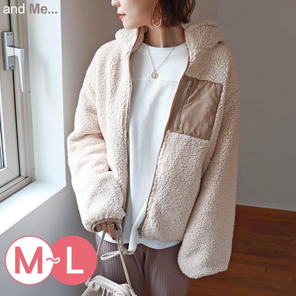 日本代購-羊羔絨連帽拉鏈外套(共五色/M-L) 日本代購,羊羔絨,連帽