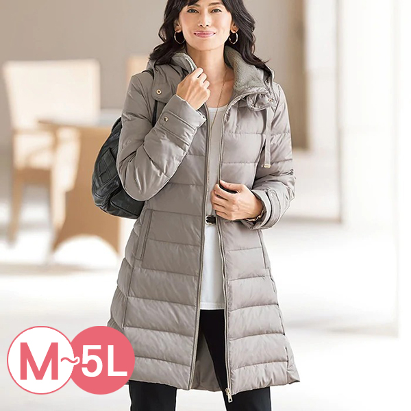 日本代購-蓄熱保暖帽可拆羽絨大衣(共四色/M-LL) 日本代購,連帽,羽絨