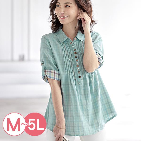 日本代購-portcros透氣雙層紗多鈕釦襯衫(共五色/M-LL) 日本代購,portcros,襯衫