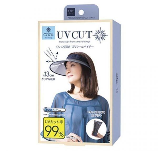 日本代購-現貨日本Cogit 防UV水玉圓點空頂遮陽帽 日本空運,Cogit ,遮陽帽