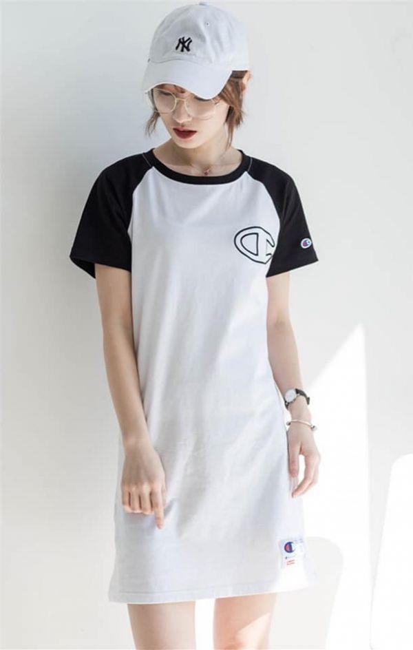 超值代購-Champion胸前大Logo連身裙(售價已折) 日本代購,Champion,連身裙