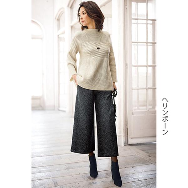 日本代購-特價portcros輕盈保暖裡起毛八分褲3L-5L(售價已折) 日本代購,portcros,八分褲