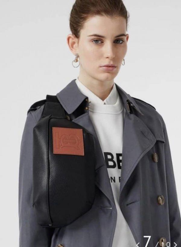 超值代購-特價BURBERRY BURBERRY 最新款牛皮腰包/胸包(男女通用)(售價已折) BURBERRY ,腰包,胸包