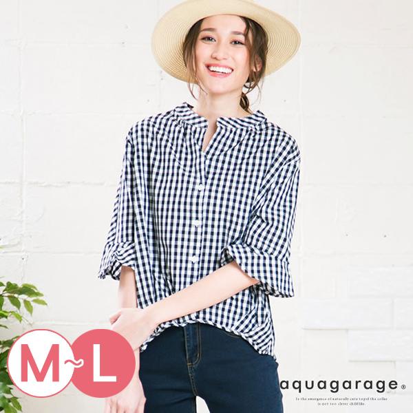 日本代購-前短後長喇叭袖襯衫(共九色/M-L) 日本代購,前短後長,襯衫