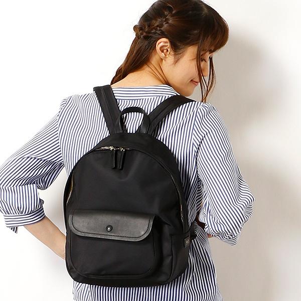 日本代購-agnes b. Voyage 掀蓋口袋後背包(售價已折) agnes b.,東區時尚,後背包