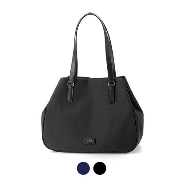 日本代購-agnes b. VOYAGE 花押字手提包-大 agnes b.,東區時尚,手提包