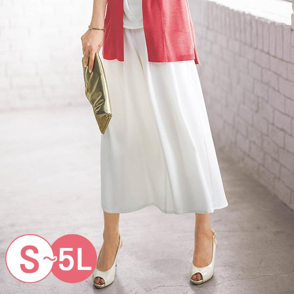 日本代購-portcros雅緻折縫腰間繫帶寬褲S-LL(共四色) 日本代購,portcros,寬褲