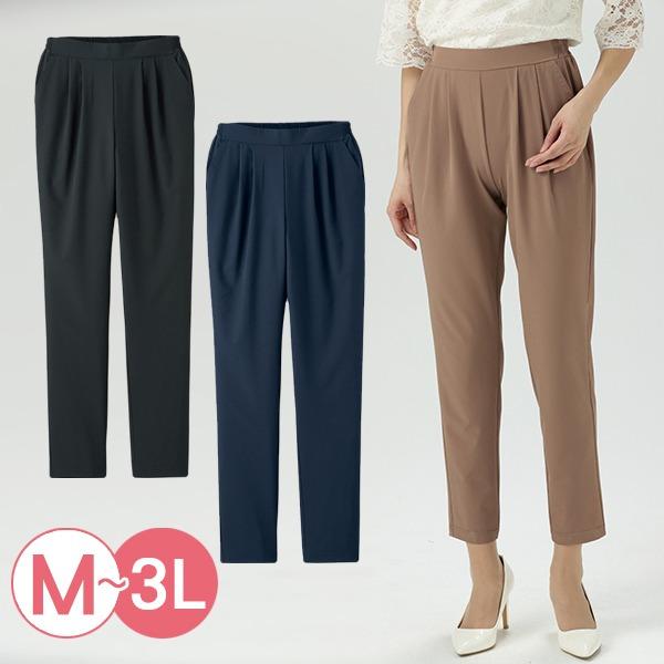 日本代購-cecile日本製輕盈空氣感彈力休閒褲3L(共三色) 日本代購,CECILE,長褲