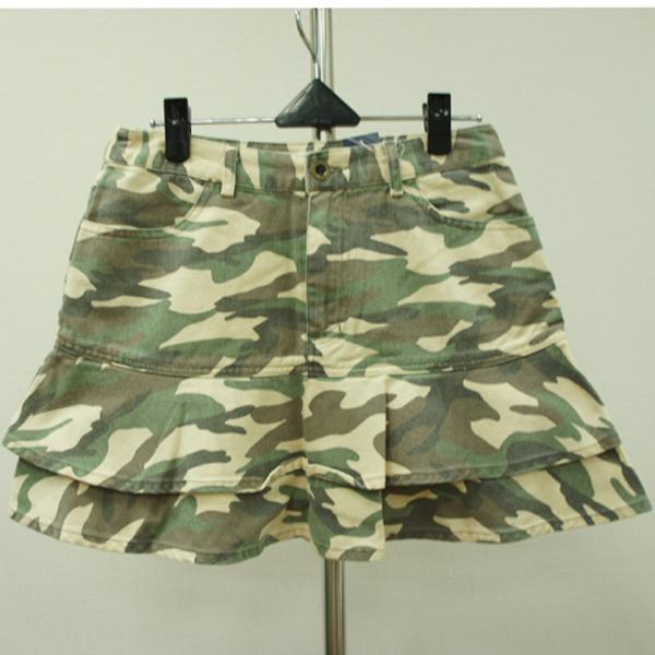 日本CIELO 現貨-迷彩短裙(迷彩/M) 日本代購