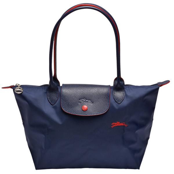 日本代購-特價LONGCHAMP Le pliage 刺繡戰馬尼龍折疊後背包小的(售價已折) agnes b.,東區時尚,後背包
