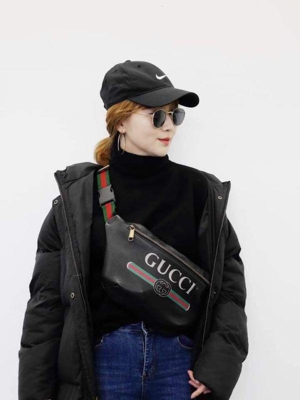 超值代購-Gucci復古LOGO腰包/胸包(男女通用)(售價已折) Gucci復古LOGO腰包/胸包