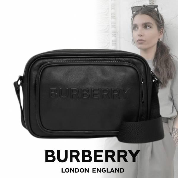 BURBERRY Deboss logo皮革多用途相機包 BURBERRY,相機包