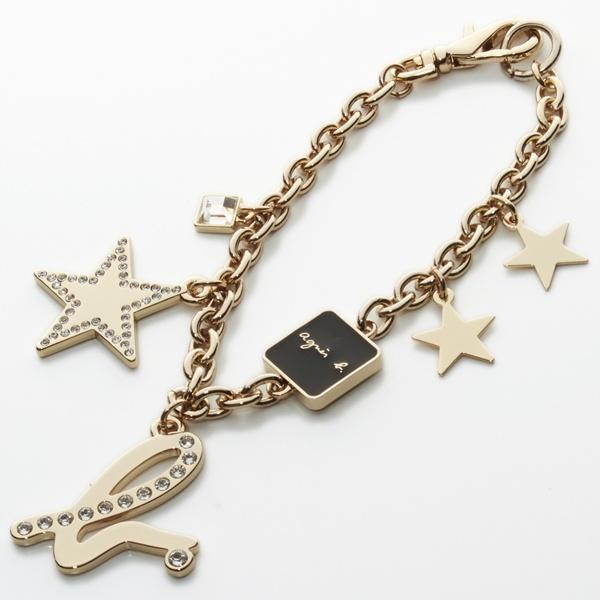 日本代購-特價agnes b.小b星星鑲鑽掛飾(售價已折) agnes b.,東區時尚,小b星星鑲鑽掛飾